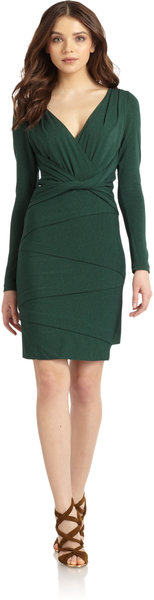 nicole-miller-hunter-green-twist-front-tiered-jersey-dress-product-1-8033080-487895171_large_flex