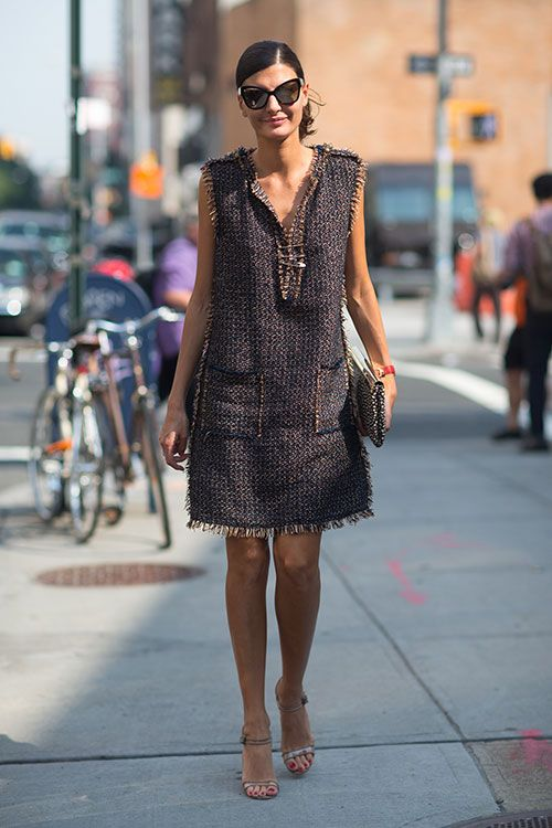 tweed dress 1
