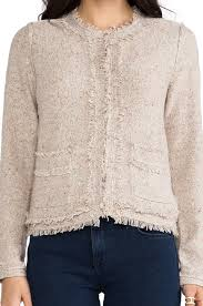 joie frayed jacket